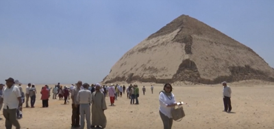 Egypt opens two of its earliest pyramids for the first time since 1956