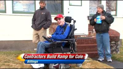 Community Comes Together to Give Teen a Wheelchair Ramp