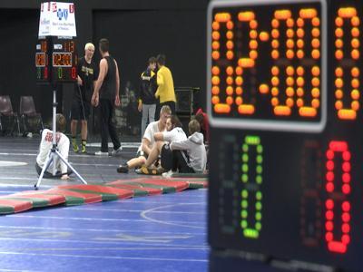 Sanitizing wrestling mats