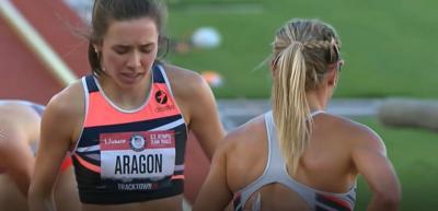 Dani Aragon secures spot in 1500m finals at Olympic Trials