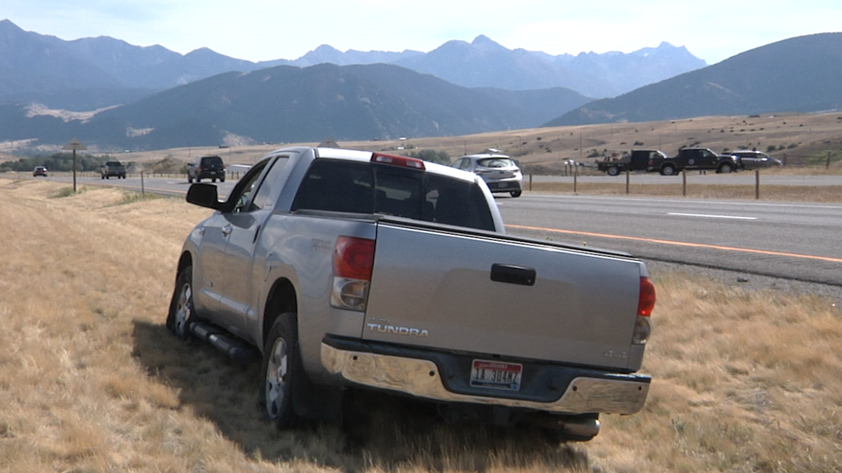 Toyota Tundra high speed chase