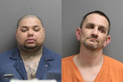 Russel Joseph Garcia left, and Timothy Wayne Schreck on the right