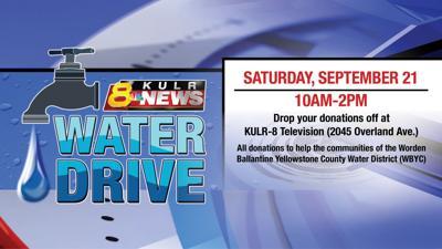 Water Drive at KULR-8