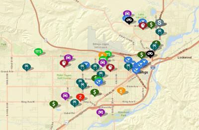 Billings Crime Map