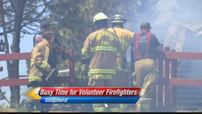Fire season puts a strain on volunteer fire fighters