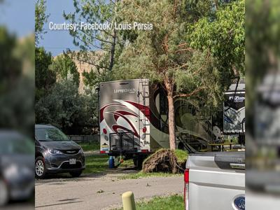Billings KOA continues campground clean-up following severe weather Tuesday night