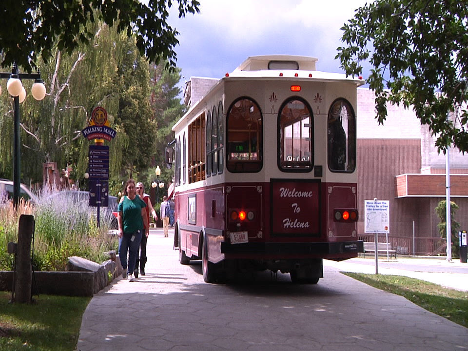 New Helena walking mall trolley off to positive start