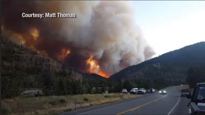 Viewer Photo: Fishhawk Fire