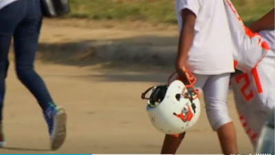 Two people, including child, shot while attending a pee-wee football game in Texas