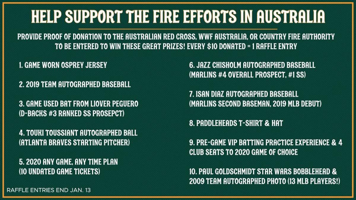 Missoula PaddleHeads raise money to help Australia fires