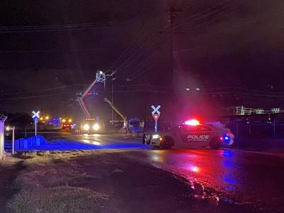 Power restored and road reopened after crash in Missoula