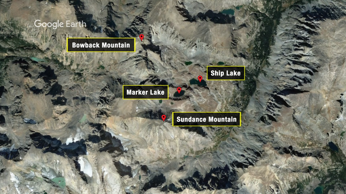 Missing hiker - areas to avoid