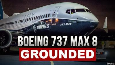 Boeing 737 Max 8 Grounded MGN