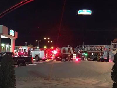 Burnt food evacuates Howard Johnson Inn