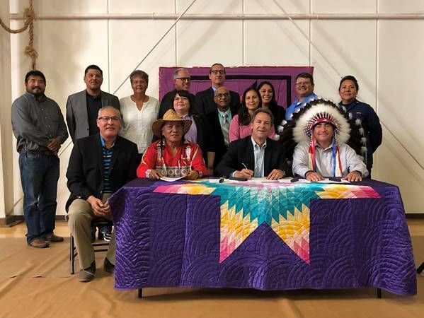 Bullock celebrates future of healthcare on Indian Reservations