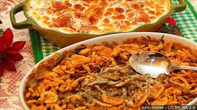 What do you think? Fresh green beans or canned green beans in green bean casserole.