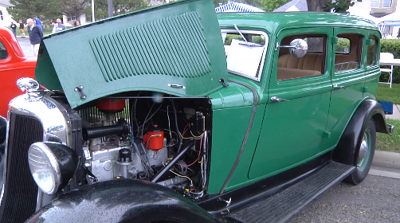 Aspen Meadows hosts first annual Father's Day classic car show