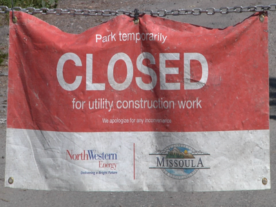Tower Street closed due to power line construction