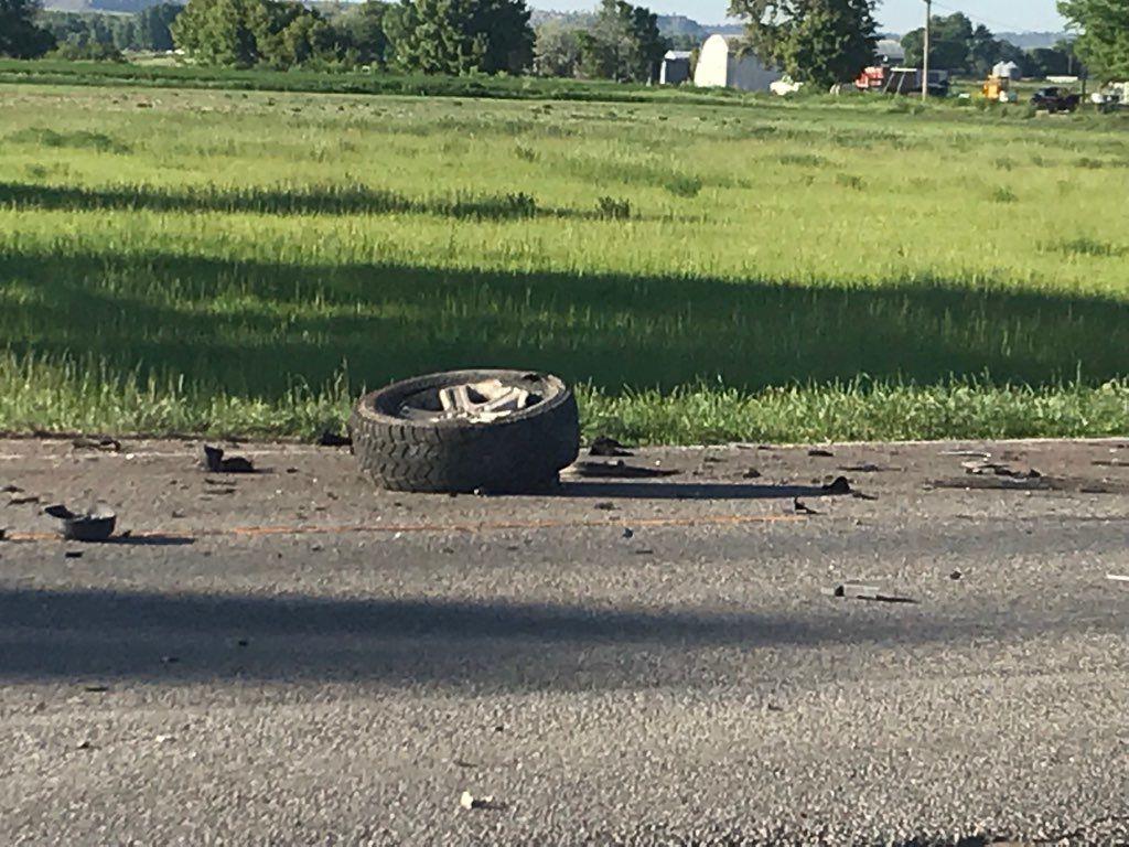 Fatal crash in Huntley 2