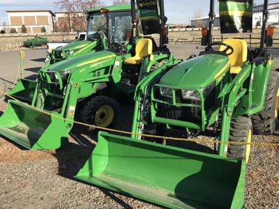 John Deere Tractors at C & B Operations