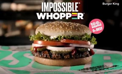 Burger King's impossible burger to hit restaurants next week