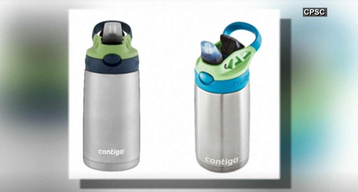 Contigo recalls over 5.7 million waterbottles for kids