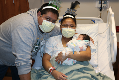 St. Vincent Health Care welcomes its first baby born in 2021