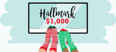 Hallmark xmas movie $1K
