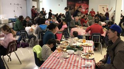 The 69th Christmas dinner at Montana Rescue Mission