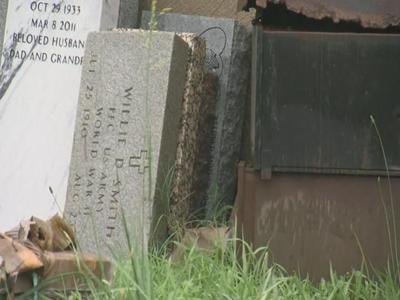 Headstones Removed Over Unpaid Bills
