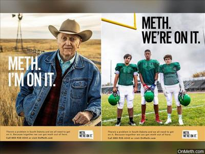 South Dakota's governor defends 'Meth. I'm on it' campaign