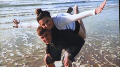 Jake and Monica Allmendinger