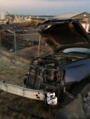 2-car crash sends 1 to hospital in Great Falls