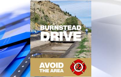 Billings Firefighters avoid Burnstead Dr.
