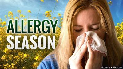 Spring allergy warnings