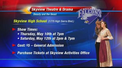 "Skyview High School theater class hopes to dazzle audience with ""Beauty and the Beast"""