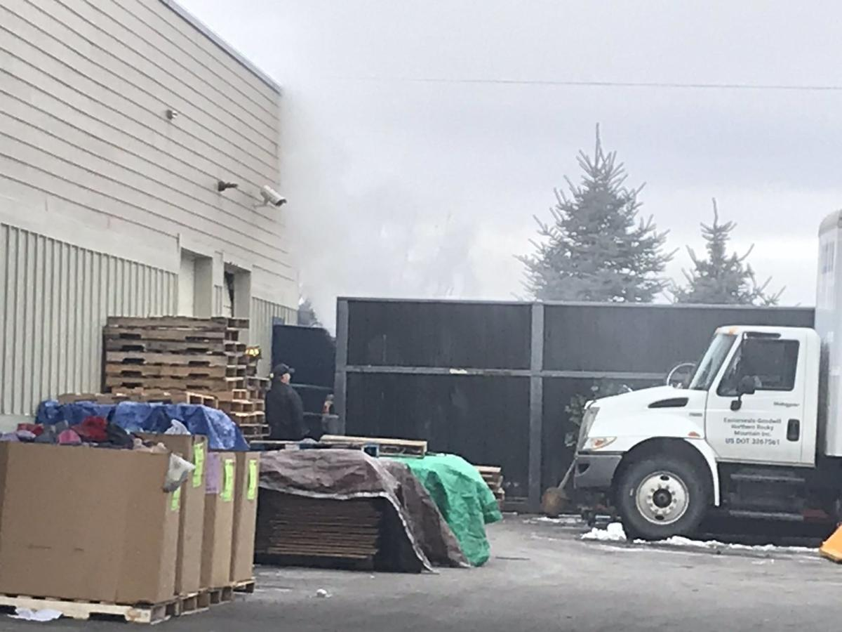 Bozeman Fire on scene of situation at GoodWill