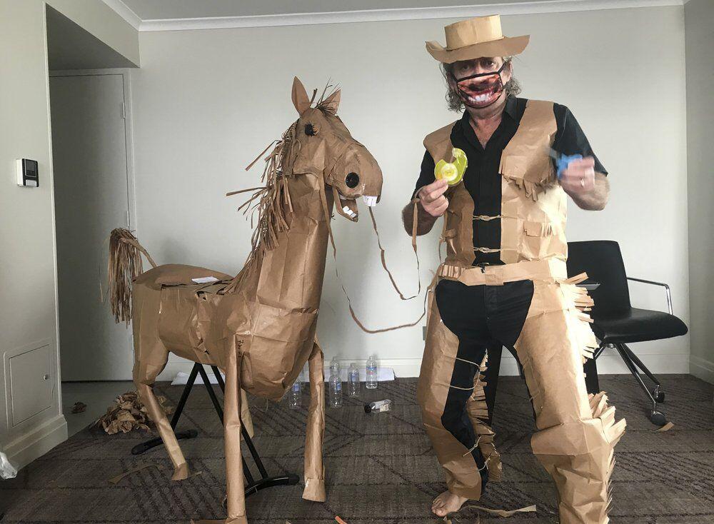 paper cowboy