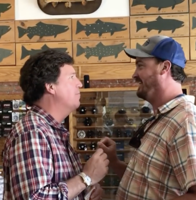 Montana fishing supply store sets the record straight after trending visit from Fox News host Tucker Carlson