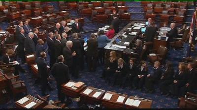 Senator Daines and Senator Tester speak on Republic tax reform plan