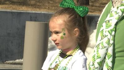 Hundreds gather for St. Patrick's Day Parade downtown