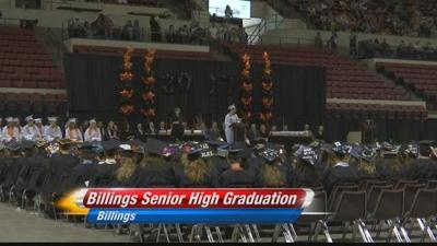 Graduation day for Billings Senior high school