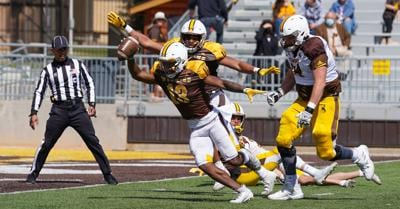 NCAA Football: Wyoming Spring Game: Brown and Gold