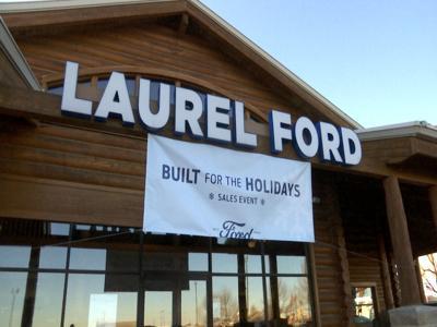 Laurel Ford Sign