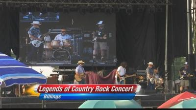 Legends of Country Rock music festival entertains Billings