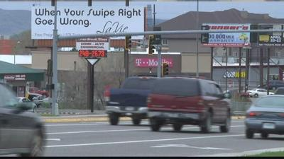 Local billboard gains attention
