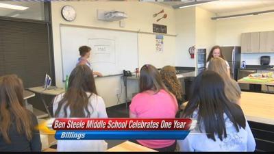 Ben Steele Middle School 1st year wrap
