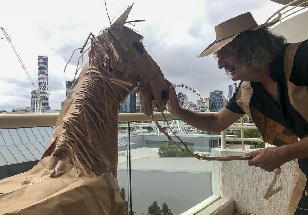 Australian paper cowboy
