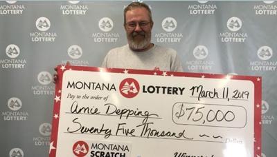 Arnie Depping Montana Lottery Winner