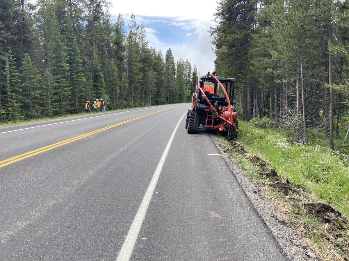 Fiber Optic Line Installation in Grand Teton National Park